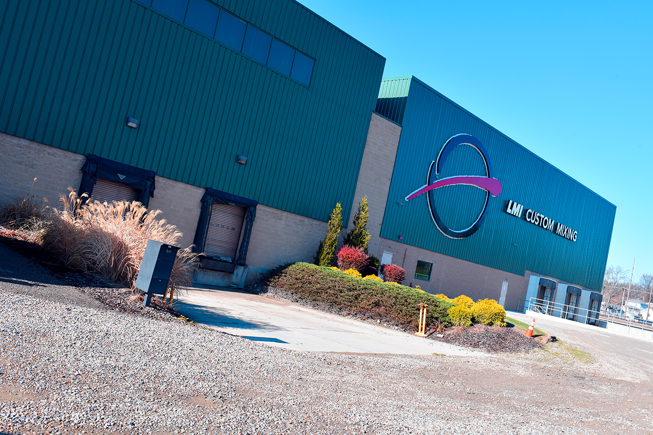 LMI Custom Mixing completes initial stage of plant-wide expansion