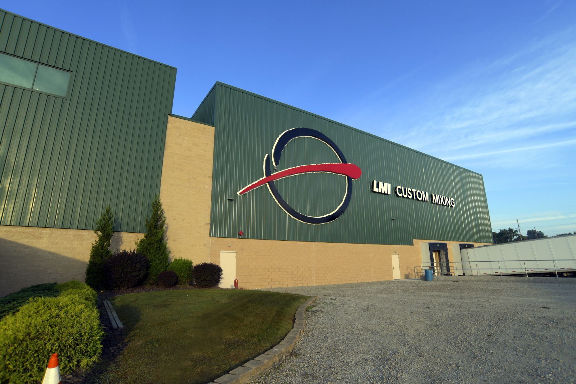 LMI Custom Mixing completes third phase of a $17M+ facility expansion in Southeastern Ohio